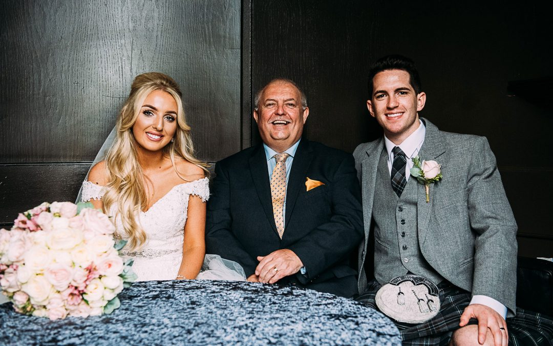 Wedding at Airth Castle