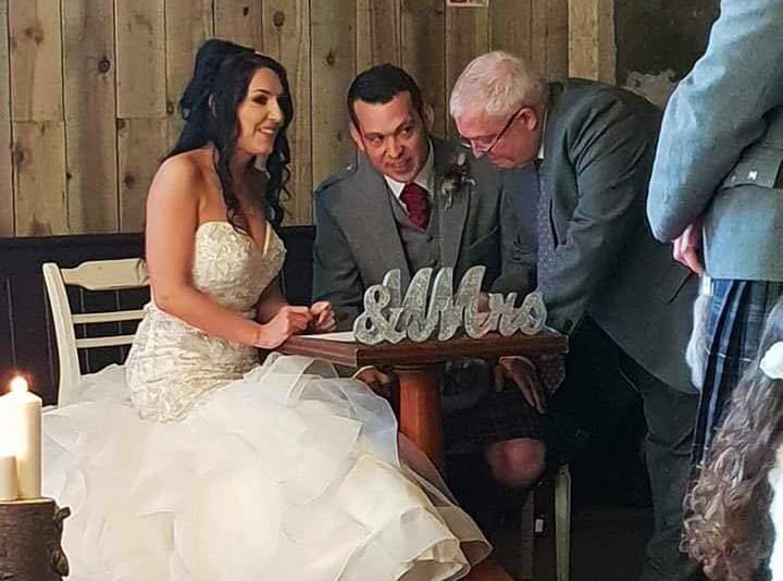 Wedding Ceremony in Crieff