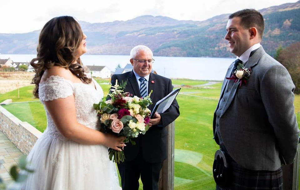Wedding at the Carrick Castle Estate