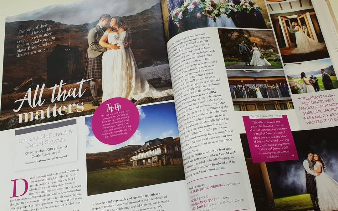 Wedding reached the Magazines