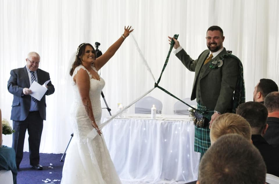 Wedding Ceremony at Uphall Golf Club