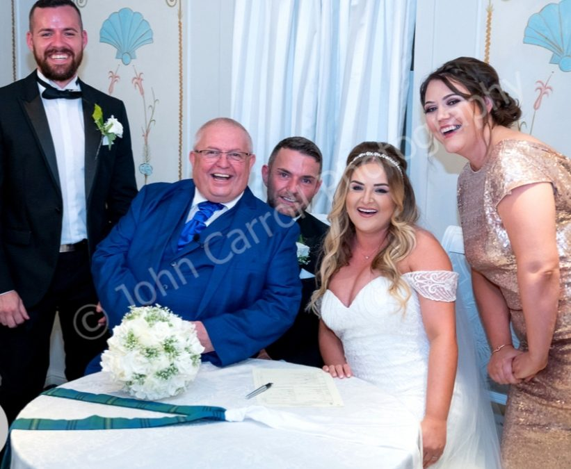 Bothwell Bridge Hotel Wedding Ceremony